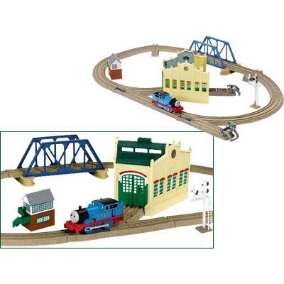 Железная дорога  «Томас с депо»