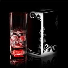 Красный светящийся бокал Longdrink GlasShine