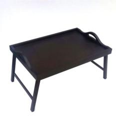 Столик для завтрака в постель с ручками (цвет — венге)