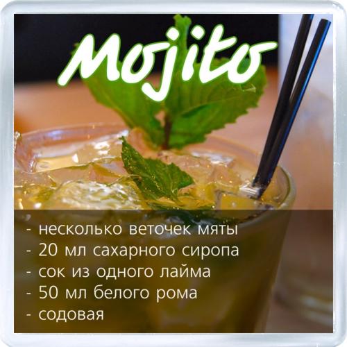 Рецепты коктейля мохито