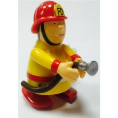 Заводная игрушка Пожарный