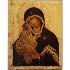 Копия иконы XIV века Донская икона Божьей Матери