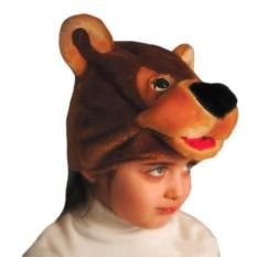 Карнавальная шапочка Медвеженок