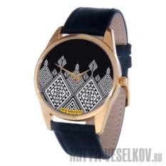 Часы Mitya Veselkov Северный узор (цвет: золотой)