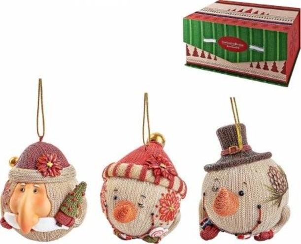 Набор новогодних украшений