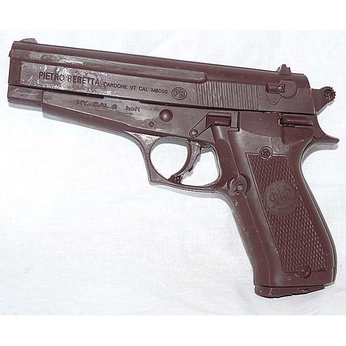 Фигурка из шоколада «Пистолет Беретта»
