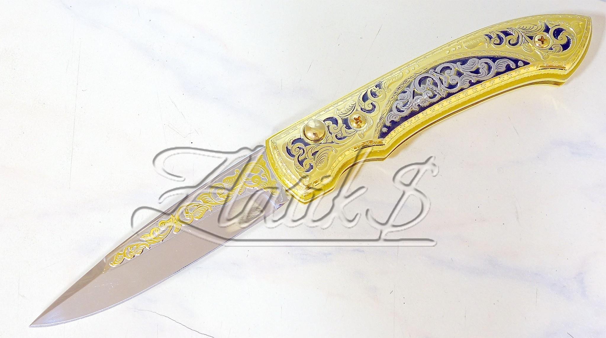 Нож складной Орнамент