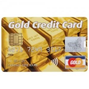 Флешка «Золотая кредитка» 8 Гб