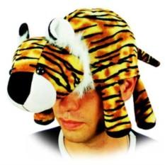 Карнавальная шапочка Тигр лежащий