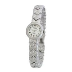 Наручные кварцевые часы Слава на серебряном браслете