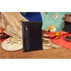 Коричневая сумка-планшет G.Ferretti из натуральной кожи