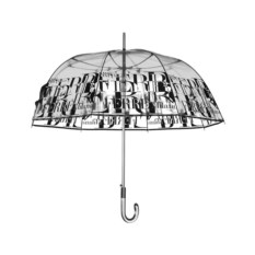 Прозрачный зонт-трость Ferre