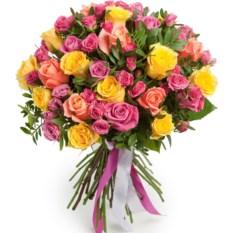 Букет цветов Палитра