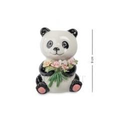 Фигурка Панда с букетом (Pavone)