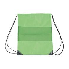 Рюкзак-мешок с сеткой, зеленый
