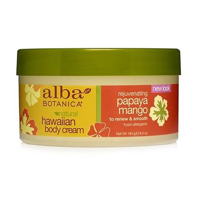 Гавайский омолаживающий крем для тела Rejuvenating papaya mango