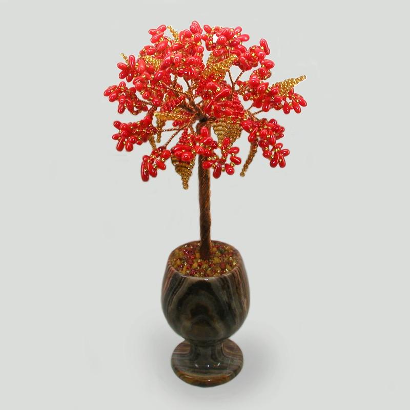 Дерево из коралла Коралловый цвет