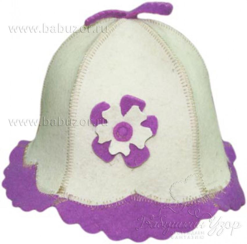 Шапочка банная Фиолет
