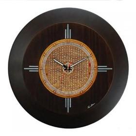 Настенные часы Красота, темно-коричневые