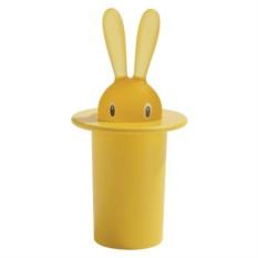 Желтый держатель для зубочисток Magic bunny