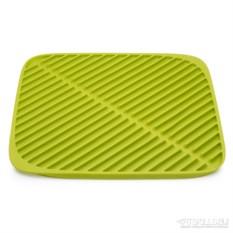 Маленький зеленый коврик для сушки посуды Flume