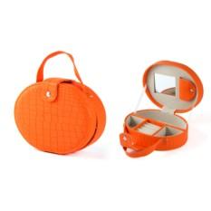 Оранжевая шкатулка для ювелирных украшений