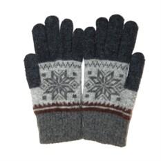 Темно-серые перчатки для сенсорного экрана iGloves