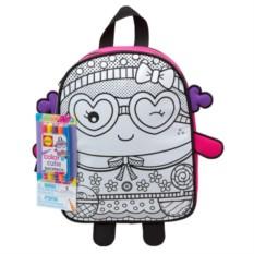 Набор для детского творчества Раскрась рюкзак Симпатяшка