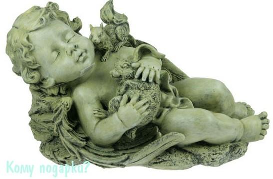Ландшафтная фигурка «Спящий ангел»