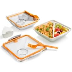 Оранжевый ланч-бокс Box Appetit