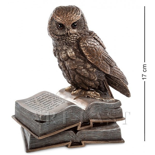 Статуэтка Сова на книгах