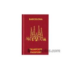 Записная книжка Passport Barcelona teNeues