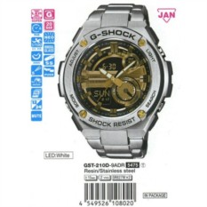 Мужские наручные часы Casio GST-210D-9A