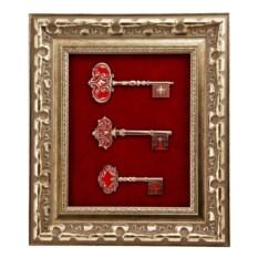 Золотистая ключница Ключи. Благополучие