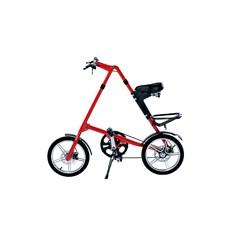 Красный складной велосипед FitBike