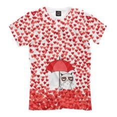 Мужская футболка Сердцепад