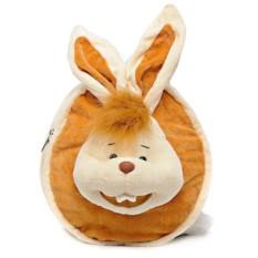 Плюшевый заяц-рюкзак