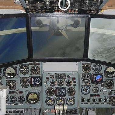 Купон Полет на тренажере в кабине самолета с фотосессией
