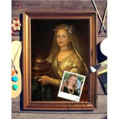 Портрет по фото О, Женщина!