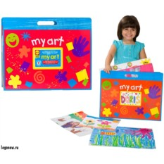 Большая папка для детских рисунков и фото