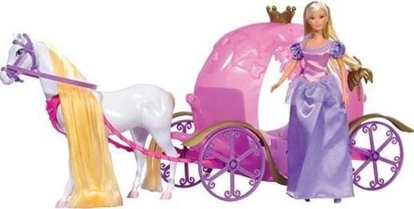 Кукла Simba Штеффи и ее сказочная карета