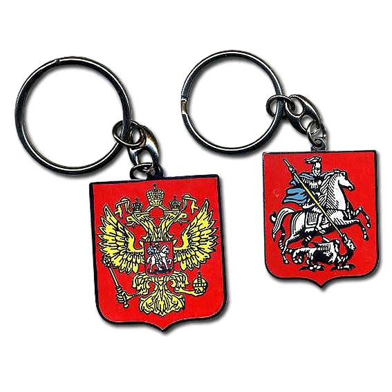 Россия брелок «Герб» щиток