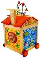 Обучающая деревянная игрушка Фермерский домик I'm Toy
