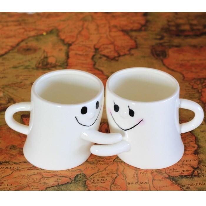 Кружки парные для влюбленных «Обнимашки»