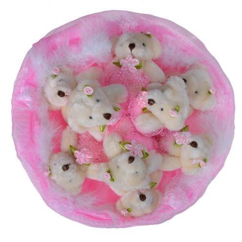 Букет из игрушек Розовая мечта