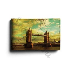 Кожаная визитница Tower Bridge