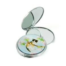 Карманное зеркало Котик