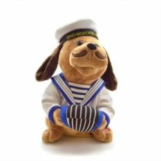 Музыкальная игрушка Собака-Морячок