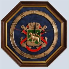 Настенные часы Герб Владивостока