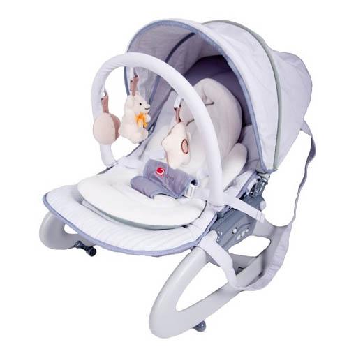 Детский шезлонг Capella (Jetem) Premium GREY